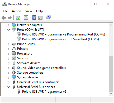 Pololu USB AVR Programmer v2 User's Guide