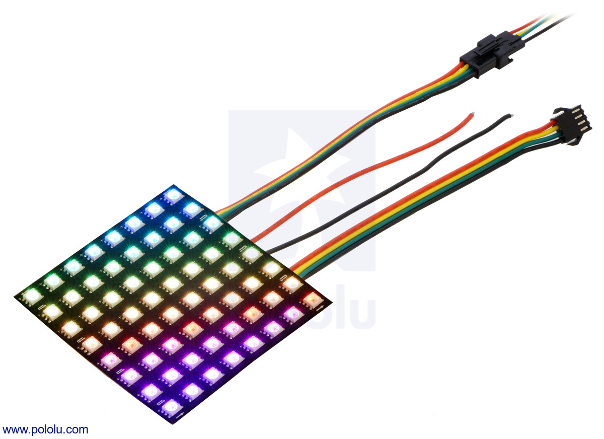 Tri Color Led Circuit Encoder With Pololu Posts By David New Products Apa102c Based Addressable Rgb Panels