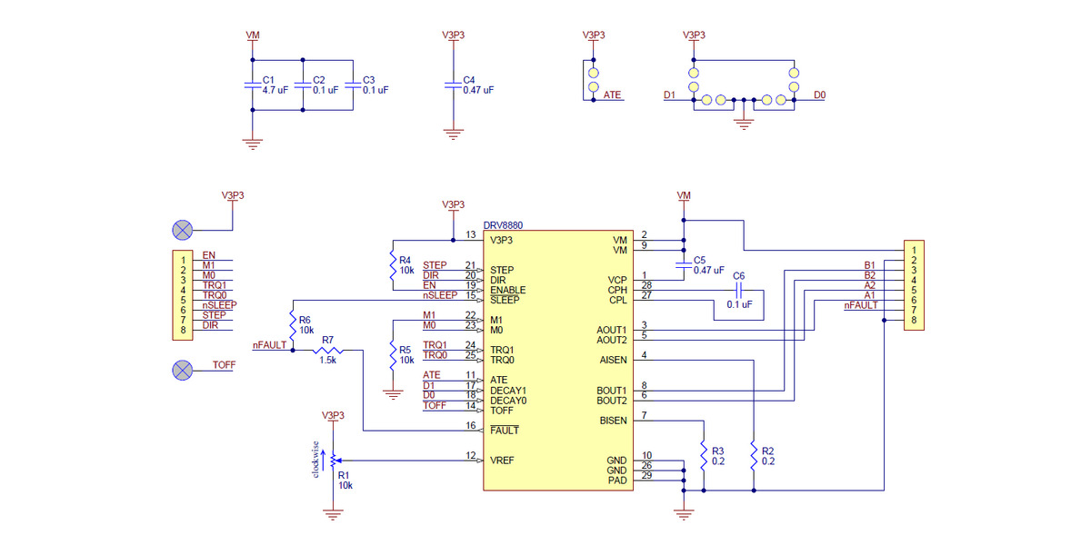 W5500 Ether  Schematics 1 0 furthermore 2 in addition Remote Control Of Dc Motor By Android Applications further EasyDriver in addition 152001157744. on stepper motor driver schematic