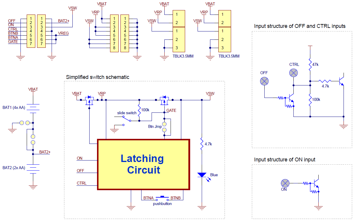 Pololu Power Distribution Board For Romi Chassis In Circuit Simplified Schematic Diagram