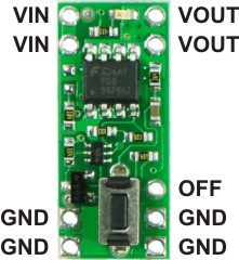 Solid State Battery >> Pololu Pushbutton Power Switch SV (old version)