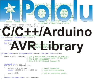 Pololu AVR Library Command Reference
