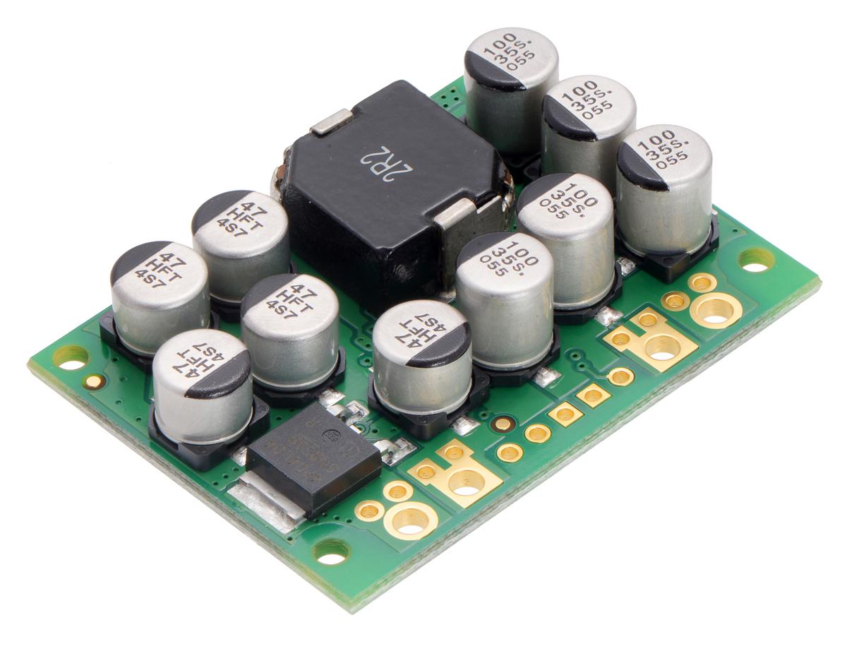 Pololu 6v 15a Step Down Voltage Regulator D24v150f6 6 To 15 Volt Dc Converter