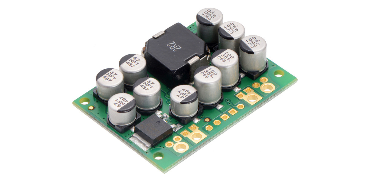 Pololu 6v 15a step down voltage regulator d24v150f6 sciox Image collections