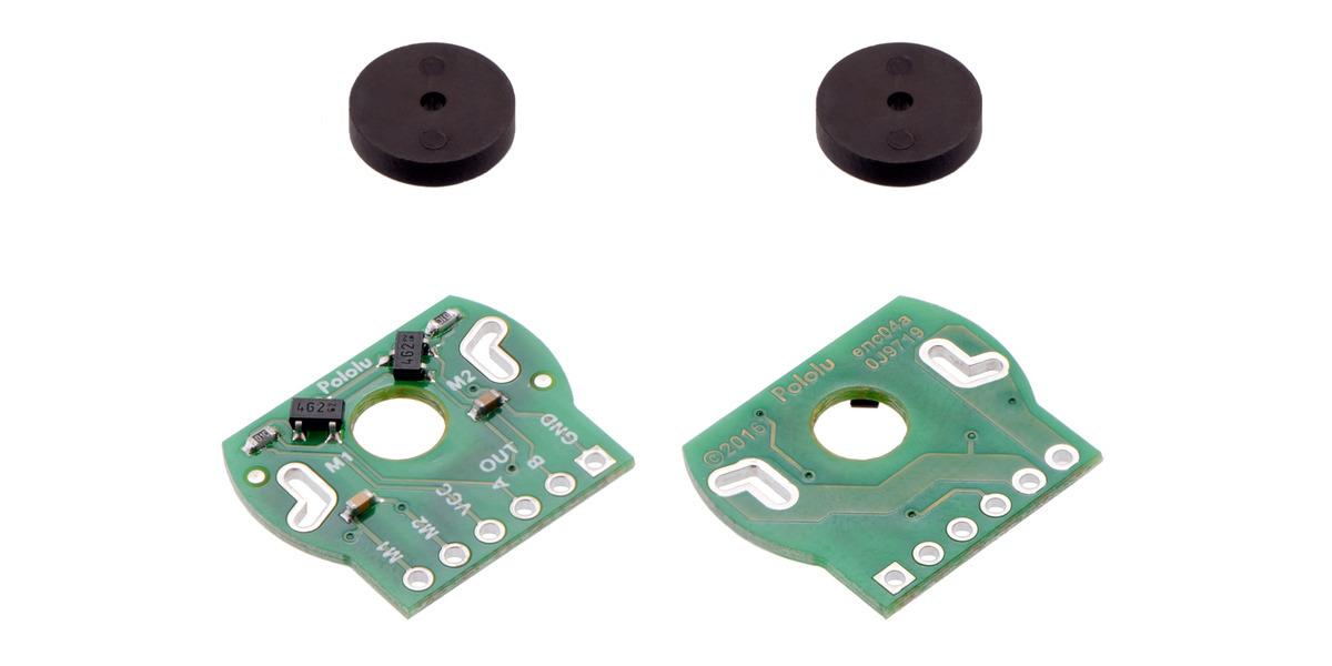 encoder 7 pole wiring diagram pololu magnetic encoder pair kit for 20d mm metal gearmotors  20  magnetic encoder pair kit for 20d mm