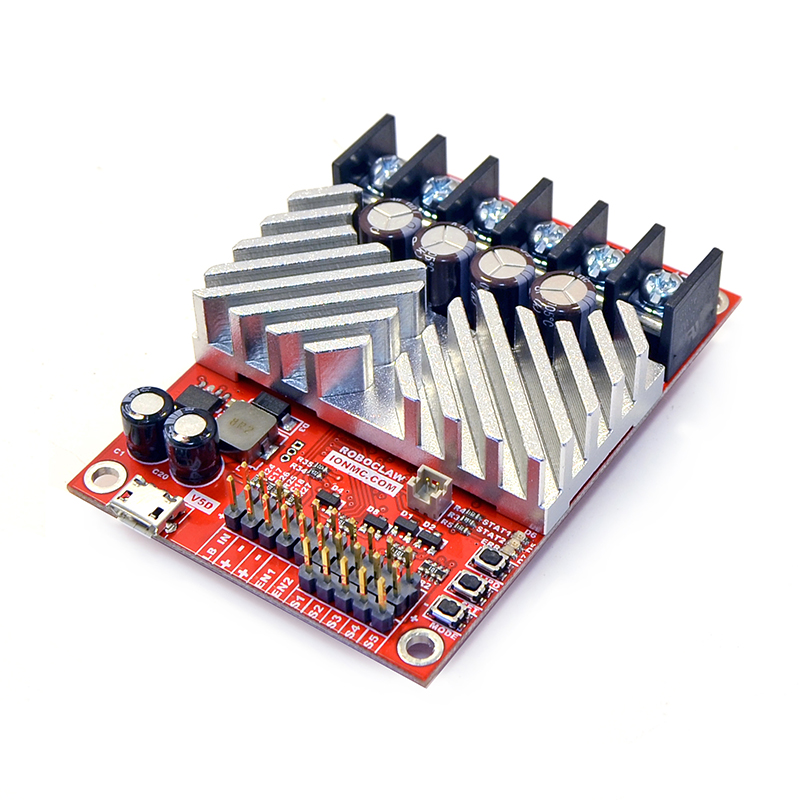 V5, screw terminal I//O Ion Motion Control RoboClaw ST 2x 45A Motor Controller