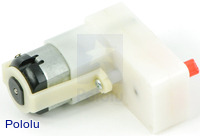 BCM 60:1 Gear Motor Offset Output