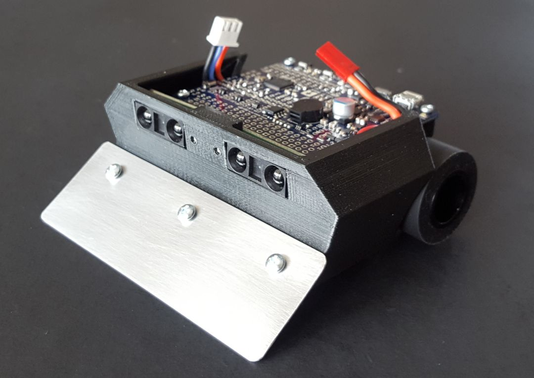 Pololu Posts Tagged Community Projects Page 4 Electronics Gt Circuit Components Optoelectronics Custom Mini Sumo Robot