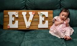 Rainbow baby Eve