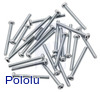 Machine Screw: #2-56, 3/4″ Length, Phillips (25-pack)