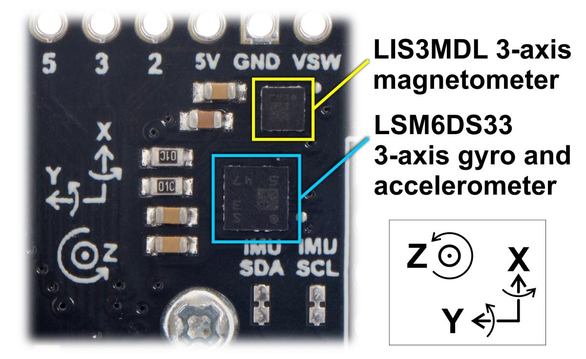Pololu - 3 5  Inertial sensors