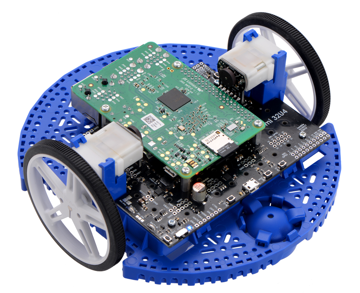Pololu - Building a Raspberry Pi robot with the Romi chassis
