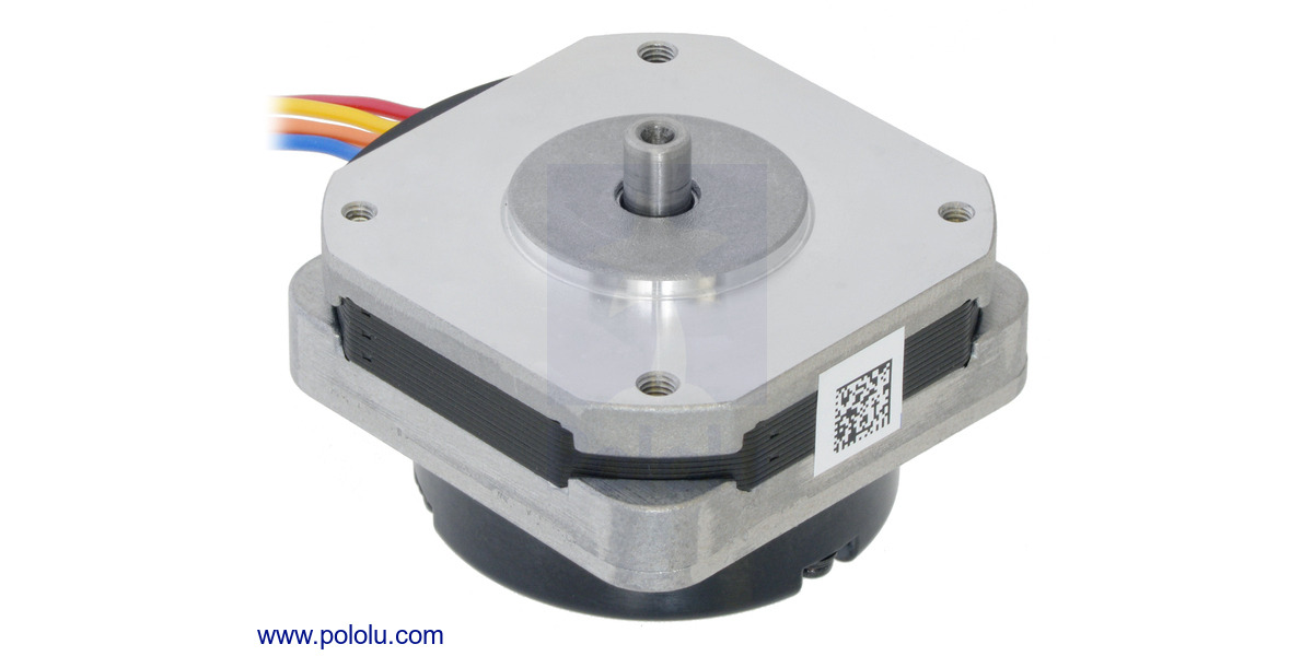 Pololu Sanyo Pancake Stepper Motor With Encoder Bipolar