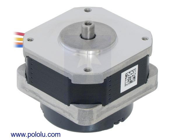 Pololu sanyo pancake stepper motor with encoder bipolar for Nema 42 stepper motor datasheet