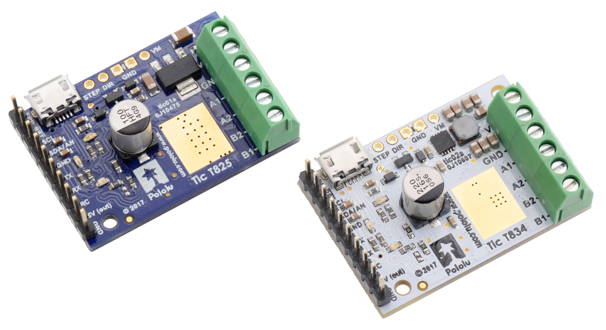 New Product Tic T834 Usb Multi Interface Stepper Motor