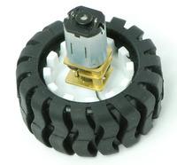 Pololu wheel 42×19mm with micro metal gearmotor.
