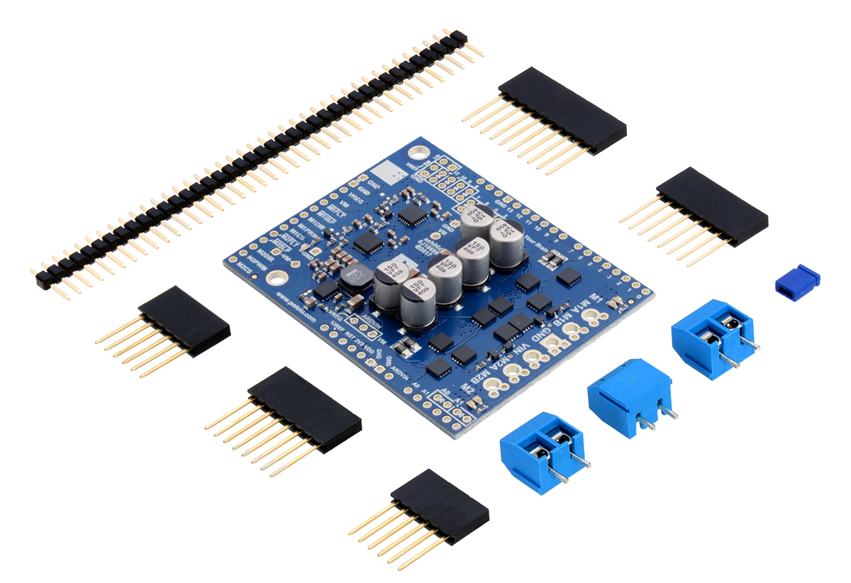 Pololu Dual G2 High-Power Motor Driver Shields for Arduino User's Guide