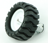 Pololu wheel 42×19mm with micro metal gearmotor.