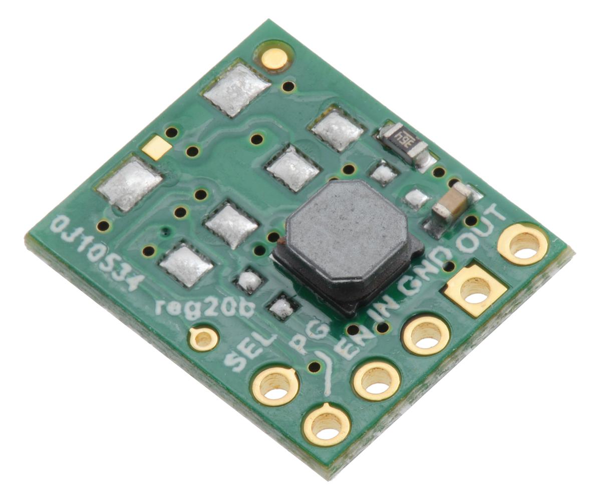 Pololu 33v Step Up Down Voltage Regulator S9v11f3s5 Adjustable 3 Ampere