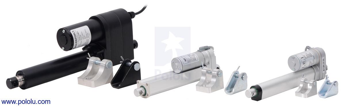 Pololu - Glideforce LACT12-1000BL Industrial-Duty Linear Actuator