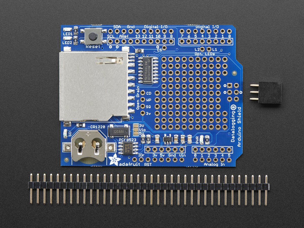 Adafruit Data Logging Shield for Arduino