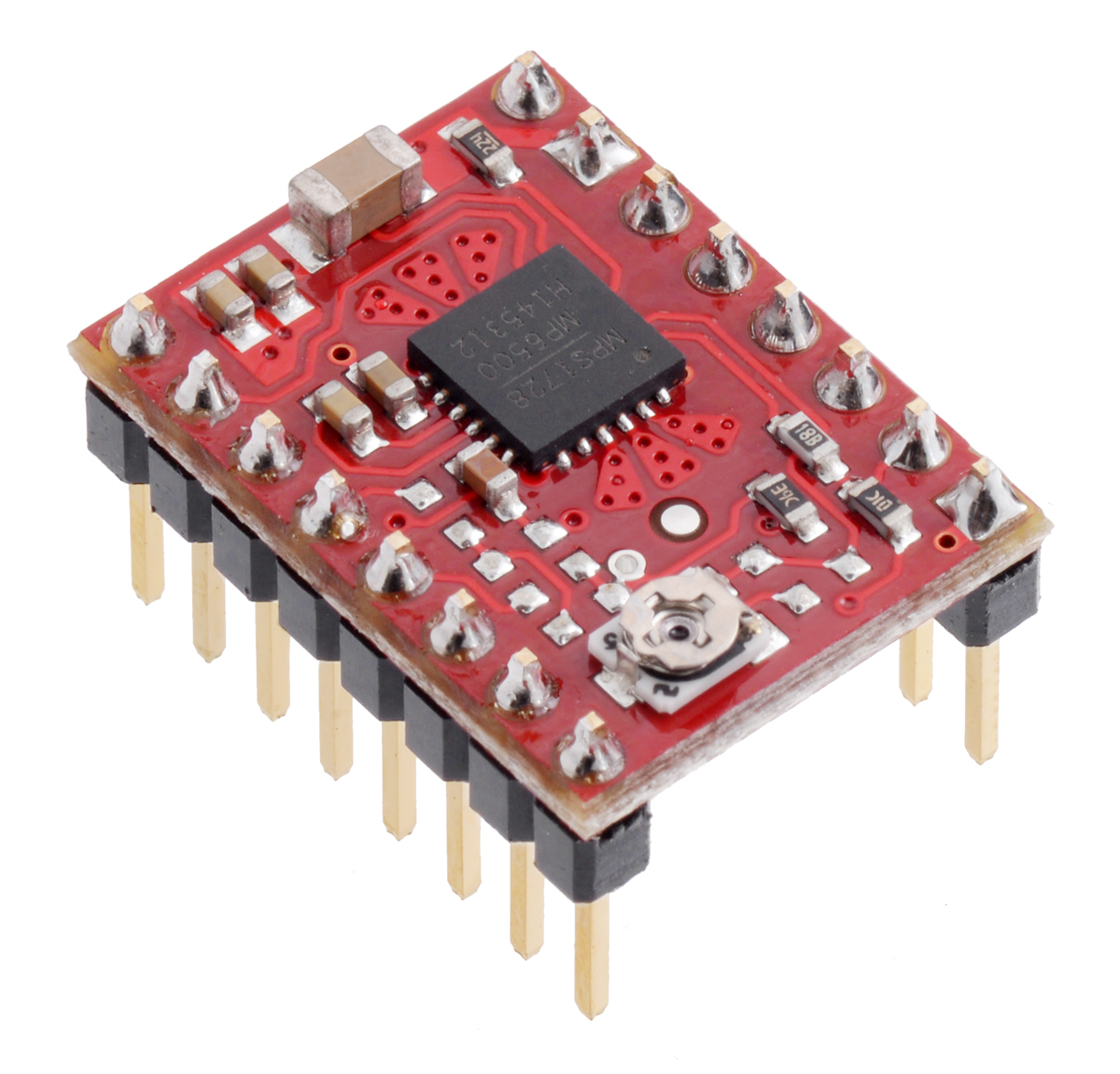 Pololu Blog Page 3 Switching Regulator 05a By Lm2574 Mp6500 Stepper Motor Driver Carriers With Soldered Header Pins