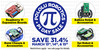 We're having a Pi Day sale, and it starts tonight!
