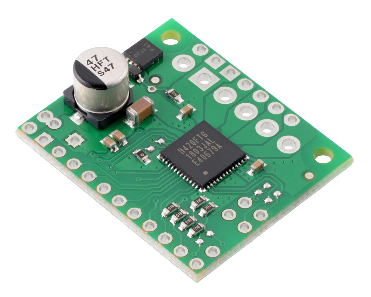 Pololu Tb67h420ftg Dual Single Motor Driver Carrier Electrical Engineering World Simple Control Circuit