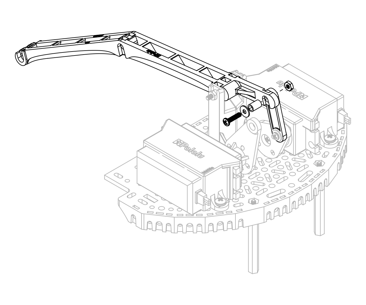 pololu user s guide for the robot arm kit for romi LEGO Motion Sensor the next step is to install the two triangular pivot transfer linkages one on either side of the main arm making sure the direction indicator arrows are