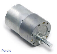 50:1 Metal Gearmotor 37Dx54L mm