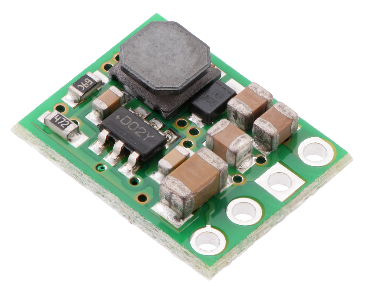 Pololu 9v 600ma Step Down Voltage Regulator D36v6f9 Circuit Diagram Power Supply Circuits Fixed