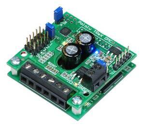 Pololu TReX Dual Motor Controller.