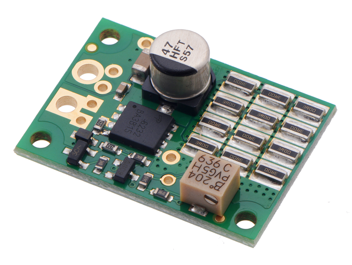 Pololu Blog Page 2 Led Circuit On Breadboard Color Sensor From A Reversed And Op Amp When I Think Of Robot Usually Picture Mobile Which Generally Means It Is Powered By Battery Most Our Motor Controller Products Are Built