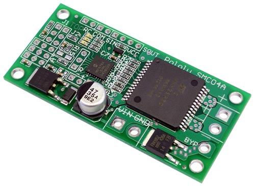 Pololu smc04 high power motor controller w feedback for High power motor controller