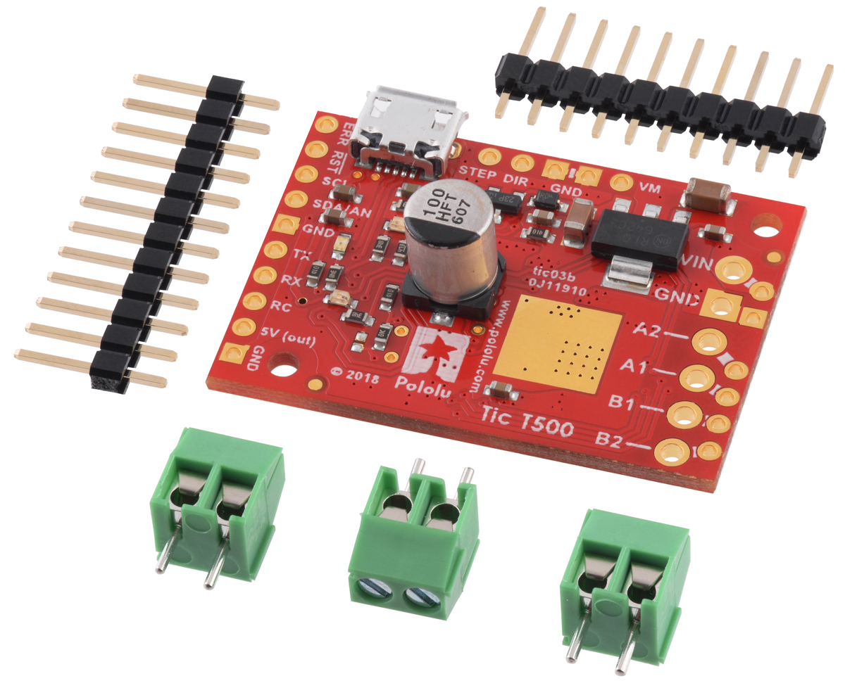 Pololu - Tic Stepper Motor Controller User's Guide