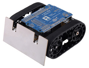 Assembled Zumo Robot for Arduino with an Arduino-compatible A-Star 32U4 Prime LV.