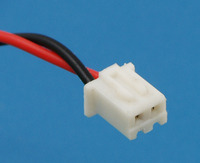 Female connector on the NiMH battery packs.