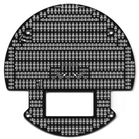 3pi Expansion Kit with Cutouts - Black
