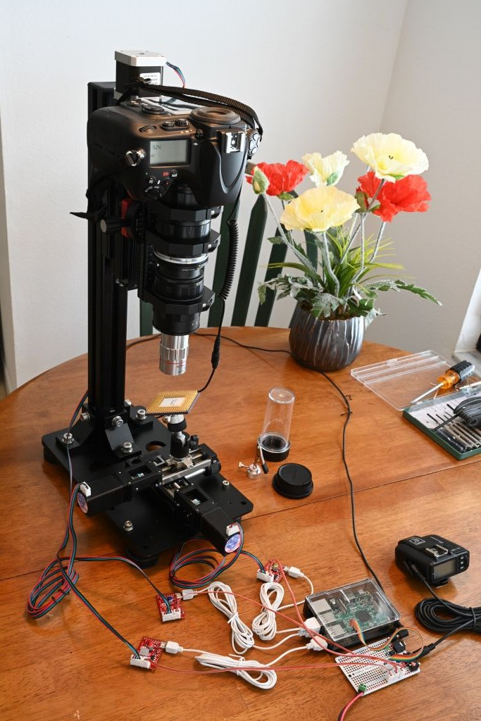 Pololu - Macro photography using Tic stepper motor controllers