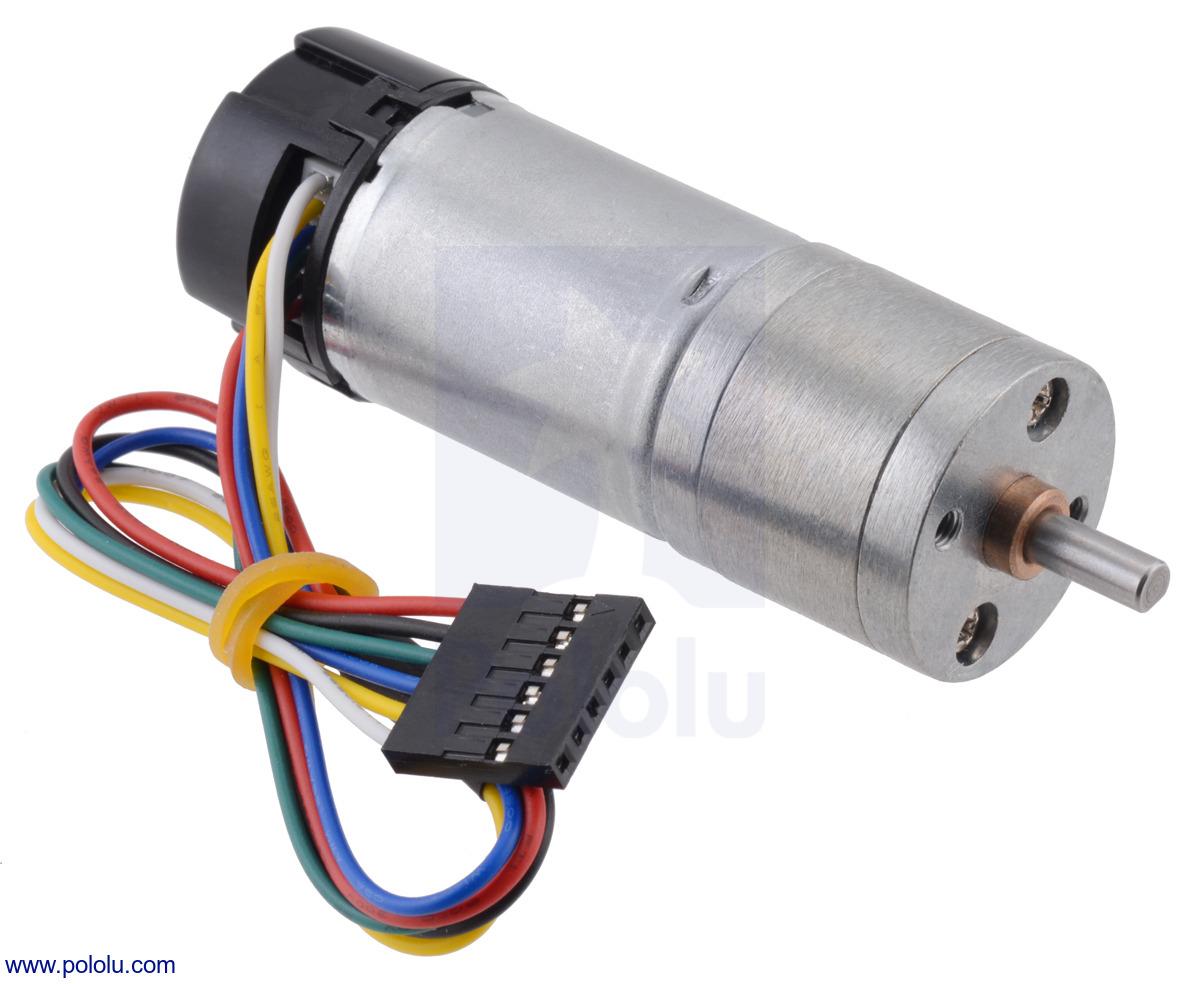 Gear Motors With Mounting Bracket Wheel 210RPM Encoder DC Motor Kit Tool Set